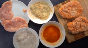 ingredients for spicy chicken sandwich recipe