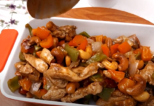 chicken cashewnut recipe